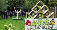 Аттракцион «ANGRY BIRDS», Енгрибердс в Живую, Новинка в аттракционах!