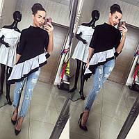 Блуза с рюшами, фото 1
