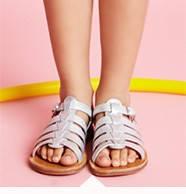 Детские босоножки для крутой детской ножки.