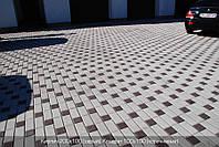 Тротуарная плитка Серая (Кирпич 200\100)
