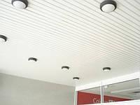 Реечный потолок для промышленных помещений