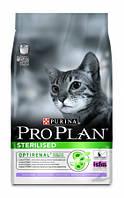 Корм для кошек Pro Plan Sterilised для стерилизованных с индейкой 400 г