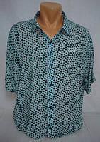 Рубашка мужская, короткий рукав р. 3XL