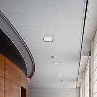 Потолок реечный алюминиевый