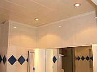 Потолки реечные в ванную комнату