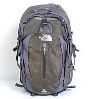 Місткий туристичний рюкзакThe North Face на 50 л (хакі)