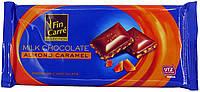 Молочный шоколад Fin Carre  «Almond caramel» PREMIYM CHOCOLATE с хрустящей карамелью 100 г