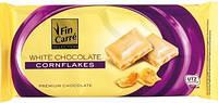 Белый шоколад Fin Carre  «Corn flakes» PREMIYM CHOCOLATE с хлопьями 100 Г