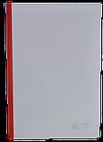 Папка скоросшиватель А4 с прижимной планкой 6мм, фото 5