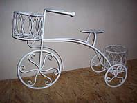 Велосипед кованый декоративный
