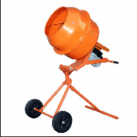 Бетономешалка Кентавр БМ-140 ПВ оранжевая