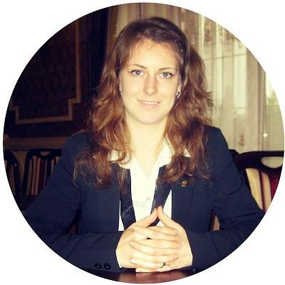 Екатерина Мельник ― методист по аквааэробике в школе Олимпия