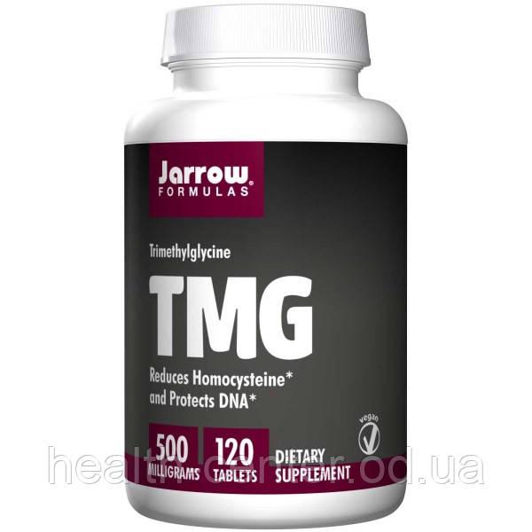 TMG Бетаин (не раздражает желудок) 500 мг 120 таб контроль гомоцистеина гепатопротектор Jarrow Formulas  USA