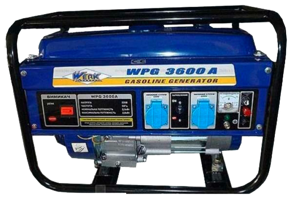Генератор Werk WPG3600A