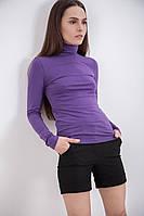 Водолазка, гольф Vogue сиреневый, фиолетовый и серый