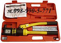 Ручной гидравлический пресс для опресовки кабельных наконечников сечением от 10 до 300 мм.кв. YQK-300. YQ-300