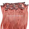Набор натуральных волос на клипсах 52 см. Оттенок №33. Масса: 100 грамм.