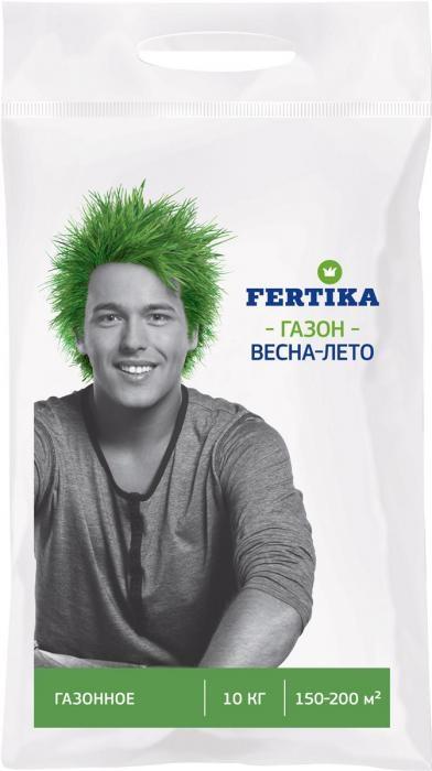 Удобрение Фертика для газона 5 кг (Fertica) весна-лето Россия