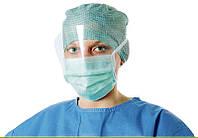 Маска медицинская с защитным экраном одноразового использования