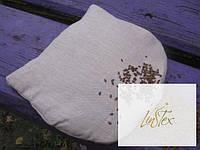Детская подушка-грелка из льна
