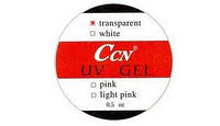 Гель CCN transparent  0.5oz прозрачный