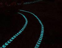 Пластиковый садовый  бордюр, для оформления клумб, светящийся в темноте