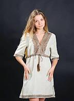 Практичное и удобное платье вышиванка с волынским колоритным узором