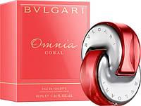 Лицензионная, туалетная вода Bvlgari Omnia Coral