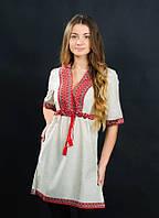 Элегантное и изящное платье вышиванка от волынских мастеров