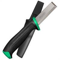 "Нож ""FatMax® Chisel Knife"" с лезвием из углеродистой стали с чехлом"