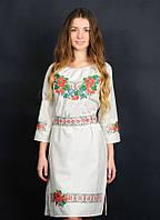 Эксклюзивное платье вышиванка от мастеров волынского края