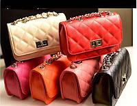 Яркая женская сумочка клатч в стиле Chanel. Стильная сумка. Красивый клатч. Новая сумочка. Купить. Код: КТМ337