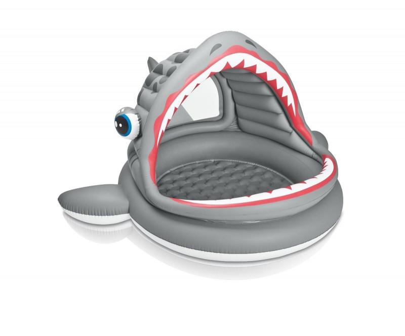 Детский надувной бассейн Intex 57120 Акула