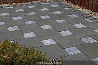 Тротуарная плитка Серая (400\400)