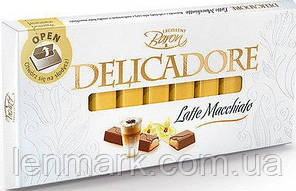 Молочный шоколад  DELICADORE Baron «Latte Macchiato» (латте) 200г