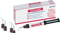 Самопротравливающийcя самоадгезивный композитный цемент TOTAL CEM Itena (тотал Цем) 1 шпр. 8 гр.