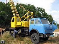 Производство советских автокранов