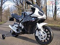 Детский мотоцикл BMW MOTOR S 1000 RR: 12V, 90W, 6 км/ч черный-купить оптом детские мотоциклы, фото 1