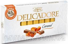 Молочный шоколад DELICADORE Baron «Caramel» (карамель) 200г
