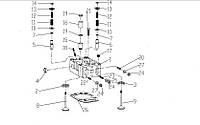 Каталог головки блока цилиндров двигателя  TD226B