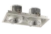 Врезные светильники SQUARE ELS166Rx2/70W  15°/24°/40°/, 3000K/4000K/5000K