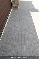 Тротуарная плитка Серая (Квадрат 100\100)