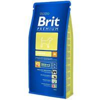 Сухой корм Brit Premium Junior M для щенков средних пород 15 кг.