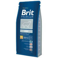 Сухой корм Brit Premium Light для собак 3 кг.