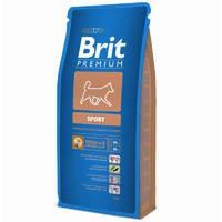 Сухой корм Brit Premium Sport для собак 15 кг.