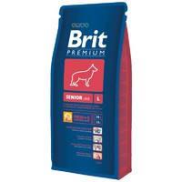 Сухой корм Brit Premium Senior L для пожилых собак15 кг.