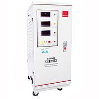 Однофазный сервоприводный стабилизатор напряжения Елтис SERVO 15000 LED, фото 1