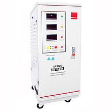 Однофазный сервоприводный стабилизатор напряжения Елтис SERVO 15000 LED