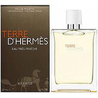 Лицензионная, туалетная вода Hermes Terre D'Hermes Eau Tres Fraiche