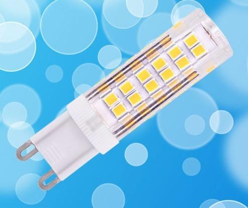 Светодиодная лампа Biom G9 7W 4500K AC220 (керамика)